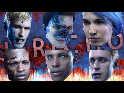Connor Awakes All Deviants to Locate Jericho - Every Single Choice - Detroit Become Human