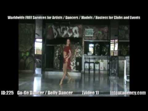 ID-225 (01) Belly Dancer / Go-go Dancer promoted by intentagency.com
