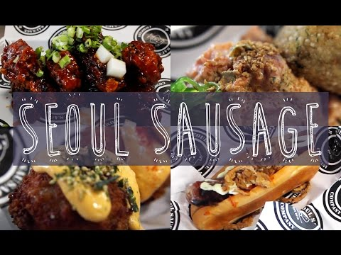 Seoul Sausage: Korean-Western Fusion