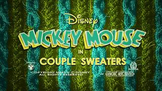 Couple Sweaters | A Mickey Mouse Cartoon | Disney Shorts