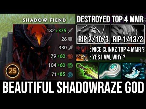 Next Level Triple Raze + Beautiful Plays | NEW SF God Destroyed Top 4 MMR with 10Min Eul's - DotA 2