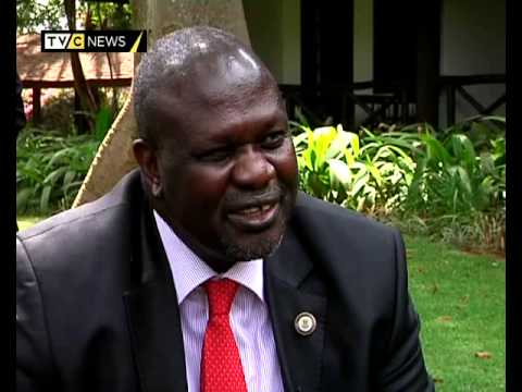 One on one interview with South Sudan rebel leader Riek Machar
