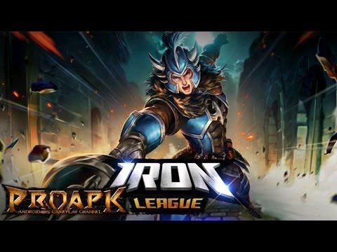 Iron League Gameplay Android / iOS (MOBA) (English)