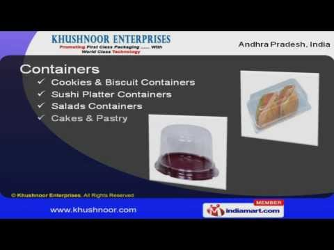 Plastic Food Containers By Khushnoor Enterprises, Secunderabad