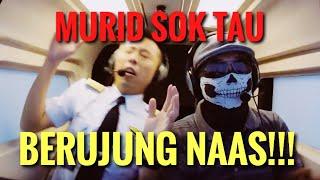 MURID PILOT SOK TAHU BERUJUNG NAAS - CRASH!! ft Om Moto Mobi TV