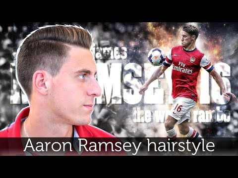 Aaron Ramsey hair | Men hairstyle inspiration | Slikhaar TV mens hair inspiration