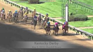 American Pharoah - All 11 Stretch Drives
