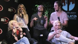 R5 Behind The Scenes: Fan Q & A at 103.7 KVIL