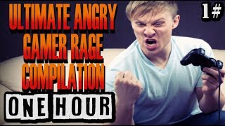 Ultimate Gamer Rage Compilation 2018 [1 HOUR] Part 1