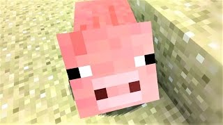 "Minecraft Song and Minecraft Animation ""Little Piggy"" Minecraft Song by Minecraft Jams"