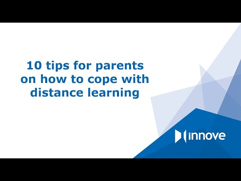 10 tips for parents on how to cope with distance learning