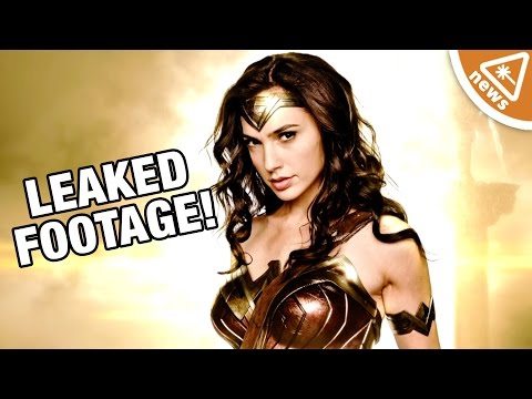 First Leaked Wonder Woman Footage Revealed! (Nerdist News w/ Jessica Chobot)