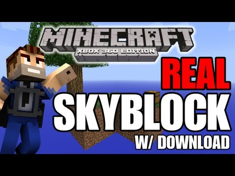 Minecraft (Xbox 360) REAL SKYBLOCK