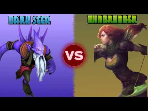 Dota Duels [s1:ep.5]: Dark Seer vs Windrunner