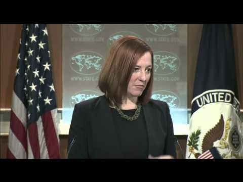 """Psaki: """"We certainly stand by what the OSCE & NATO have said."""" 12 Nov 2014 (Ukraine)"""