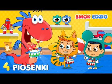 Piosenki Dla Dzieci - ZESTAW 4 Dziecięce Przeboje Od Smoka Edzia