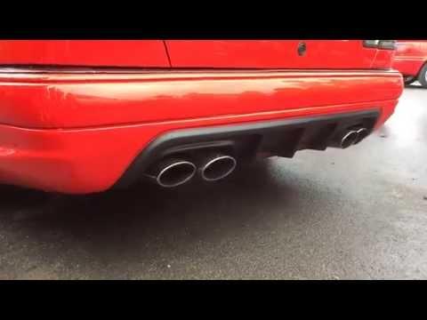 Mercedesbenz e amg w custom ehaust fitment youtube