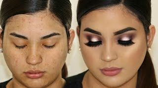 Si yo puedo maquillarme asi TU TAMBIEN PUEDES  / tutorial de maquillaje para primavera paso a paso