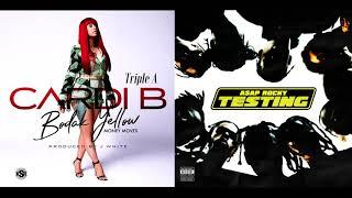 Cardi B & A$AP Rocky - Bodak Yellow & Praise The Lord (Mashup)