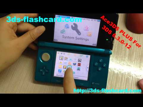 Ace3DS PLUS Test Video| Ace3DS PLUS works on 3DS 6.3.0