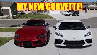 DELIVERY DATE UPDATE ON MY CORVETTE C8!