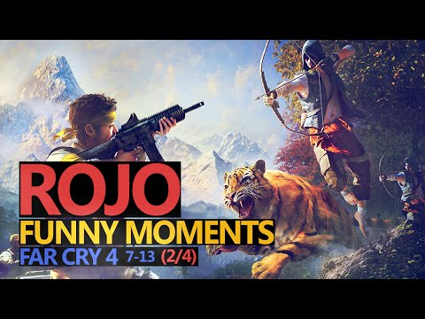 Funny Moments #53: FAR CRY 4 (2/4) odcinki 7-13 (Rojo & Urhara)