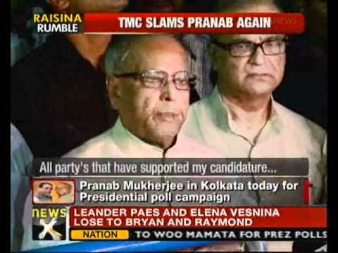 Kolkata: Pranab to meet Congress, CPM, Forward Bloc MLAs - NewsX