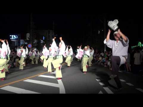 花町百人衆(Ⅱ)@2014 坂戸よさこい前夜祭