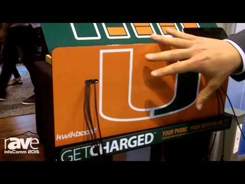 InfoComm 2015: KwikBoost Highlights Mobile Device Charging Station for Public Spaces