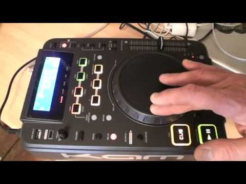 KAM KCD550 USB DEMONSTRATION ON SCRATCH EFFECTS AND  LOOP FEATURES