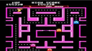 Ms. Pac-Man Gameplay (Strange) (Easy) (Sega Genesis)