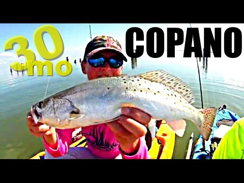 30milesOut.com- KAYAK FISHING COPANO BAY rockport tx HOW TO