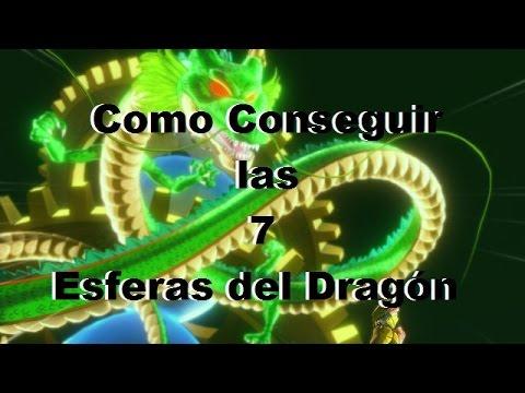 Como Conseguir las 7 esferas del Dragón Dragon Ball Xenoverse Deseos de Shenlong