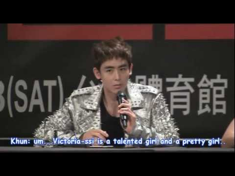 [engsub] 111006 Nichkhun Talks About Victoria video