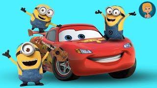 MINIONS Movie Dino Ride Paseo En Dinosaurios - Minions VS Lightning McQueen Cars 3 LEGO Juniors