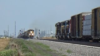 Railfanning UP between North Platte and Boone Iowa