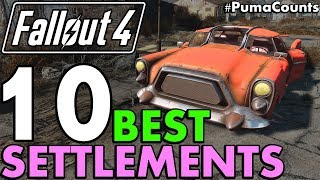 Top 10 Best Settlement Locations in Fallout 4 To Build On/At (No Mods or DLC Required) #PumaCounts