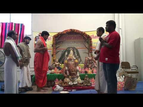 Sri Vinayaka Chavithi Festival in San jose CA 09-02-2009 ---3