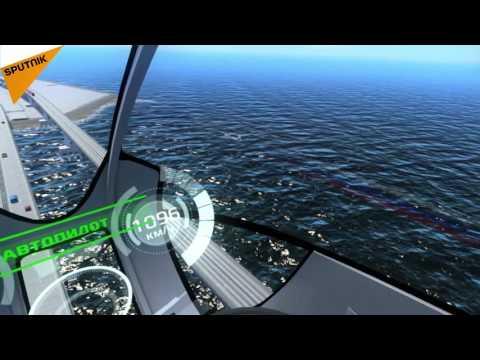 VR Version of Crimean Bridge s Shown at St. Petersburg Economic Forum 2016
