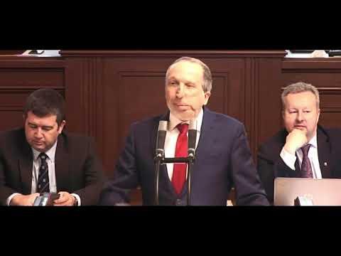 Mluvte o korytech! Václav Klaus ml. směrem ODS při projednávání svého odvolání z výboru