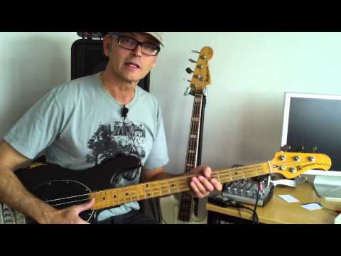 How To Get New Bass Strings In 2 Minutes! Super Bass Tip By Marlowedk video