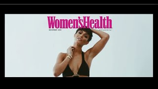 Frankie Bridge (The Saturdays) - Womens Health Magazine - Behind the scenes cover shoot