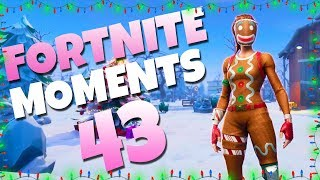 THE UNLUCKIEST JUMP PAD LANDING YOU'LL EVER SEE | Fortnite Daily Funny and WTF Moments Ep. 43