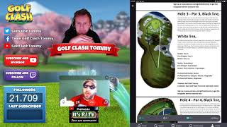 Golf Clash tips TEXT GUIDES Walkthrough PLATINUM RESORTS tournament! With Golf Clash Tommy