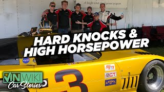 What breaks first? The Genius Garage Spirit or the IMSA Corvette?