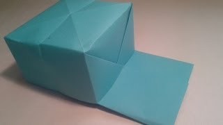 Origami - How To Make An Easy Baseball Hat