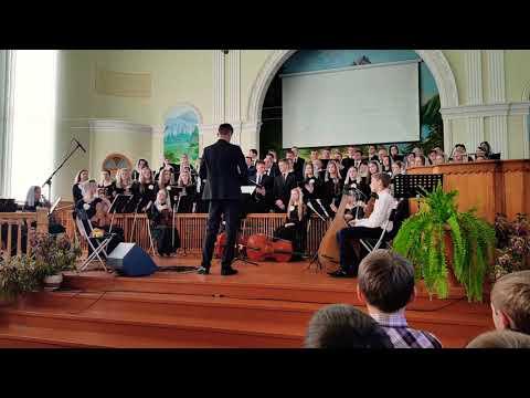 Великий Бог | Пасха 2018 | Об'єднаний хор м. Ковель