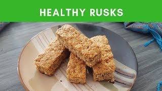 Healthy South African Rusks