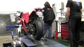 Ducati Desmosedici Dyno Sweep Test