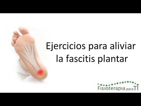 Fascitis plantar. Cómo aliviar el dolor - Fisioterapia para TI